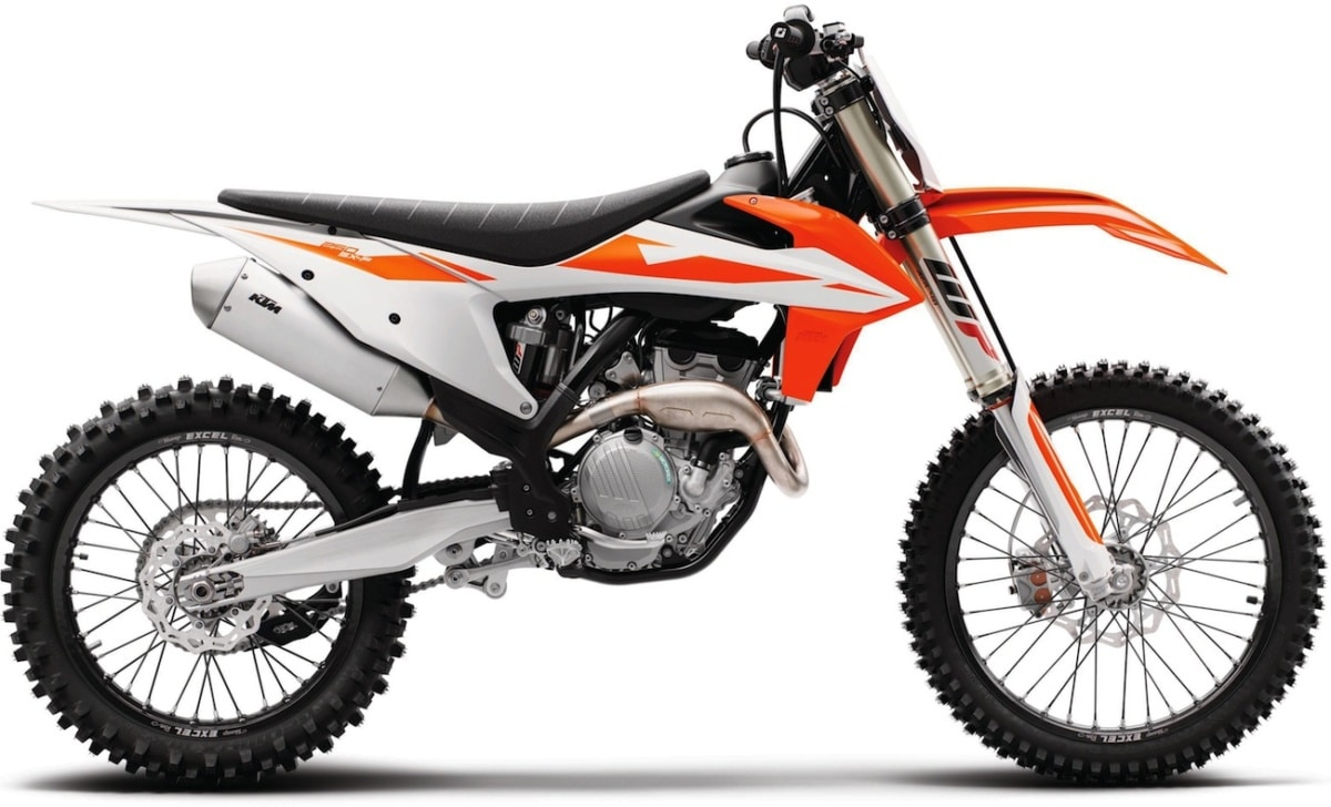 first look 2019 ktm 250sxf 350sxf 450sxf four strokes. Black Bedroom Furniture Sets. Home Design Ideas