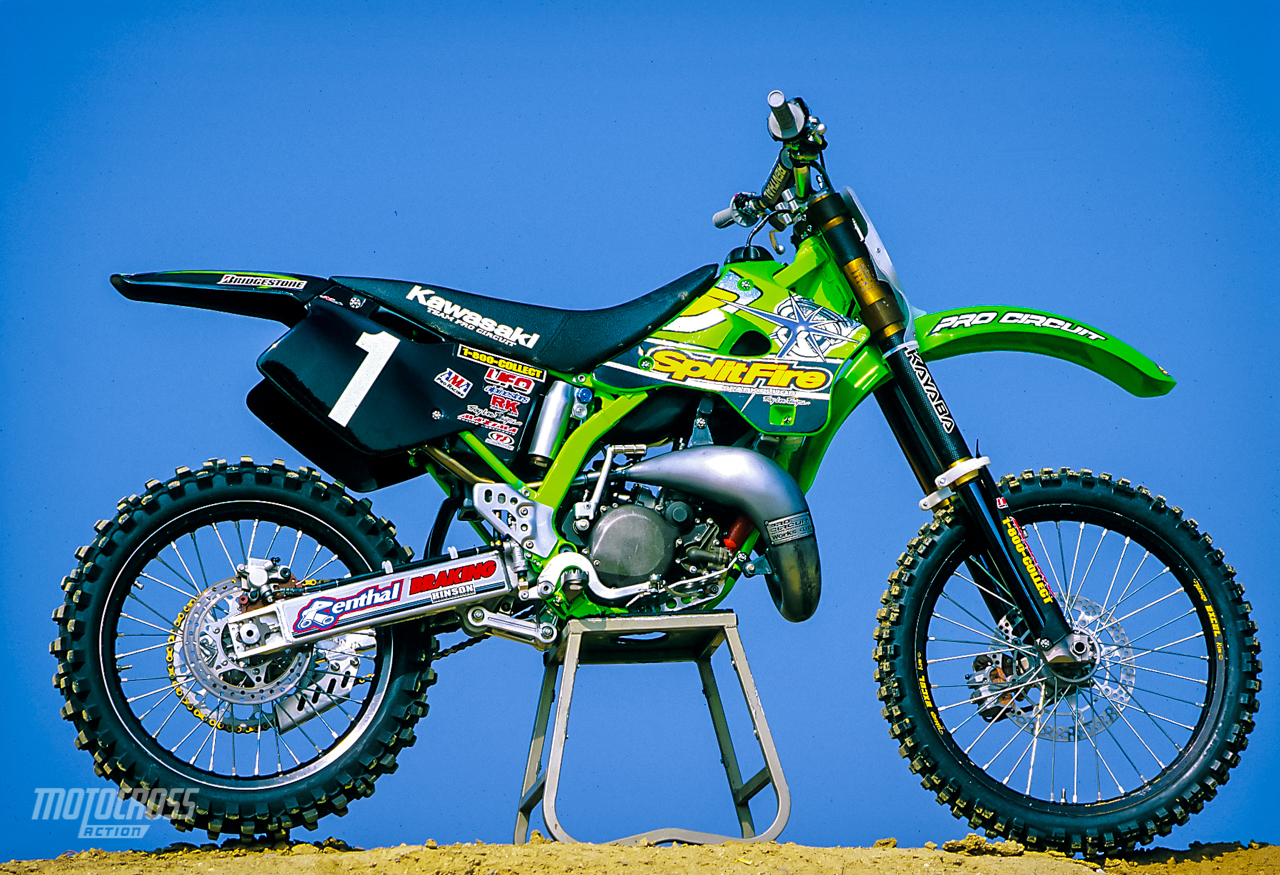 Pro Circuit Kx125 Motor Wiring Diagram Kx 125 We Ride Ricky Carmichael S 1999 Splitfire Rh Motocrossactionmag Com Factory