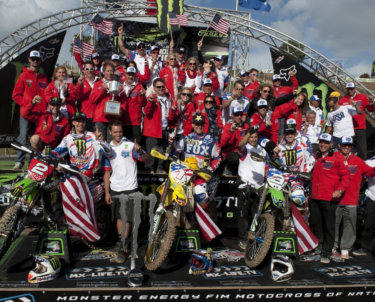 2018 Usa Motocross Des Nations Team Riders Picked