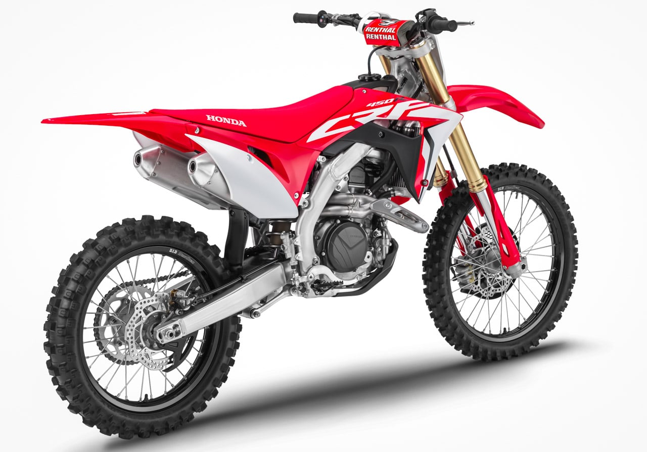 first look 2019 honda crf450 crf250 crf150 motocross action magazine. Black Bedroom Furniture Sets. Home Design Ideas