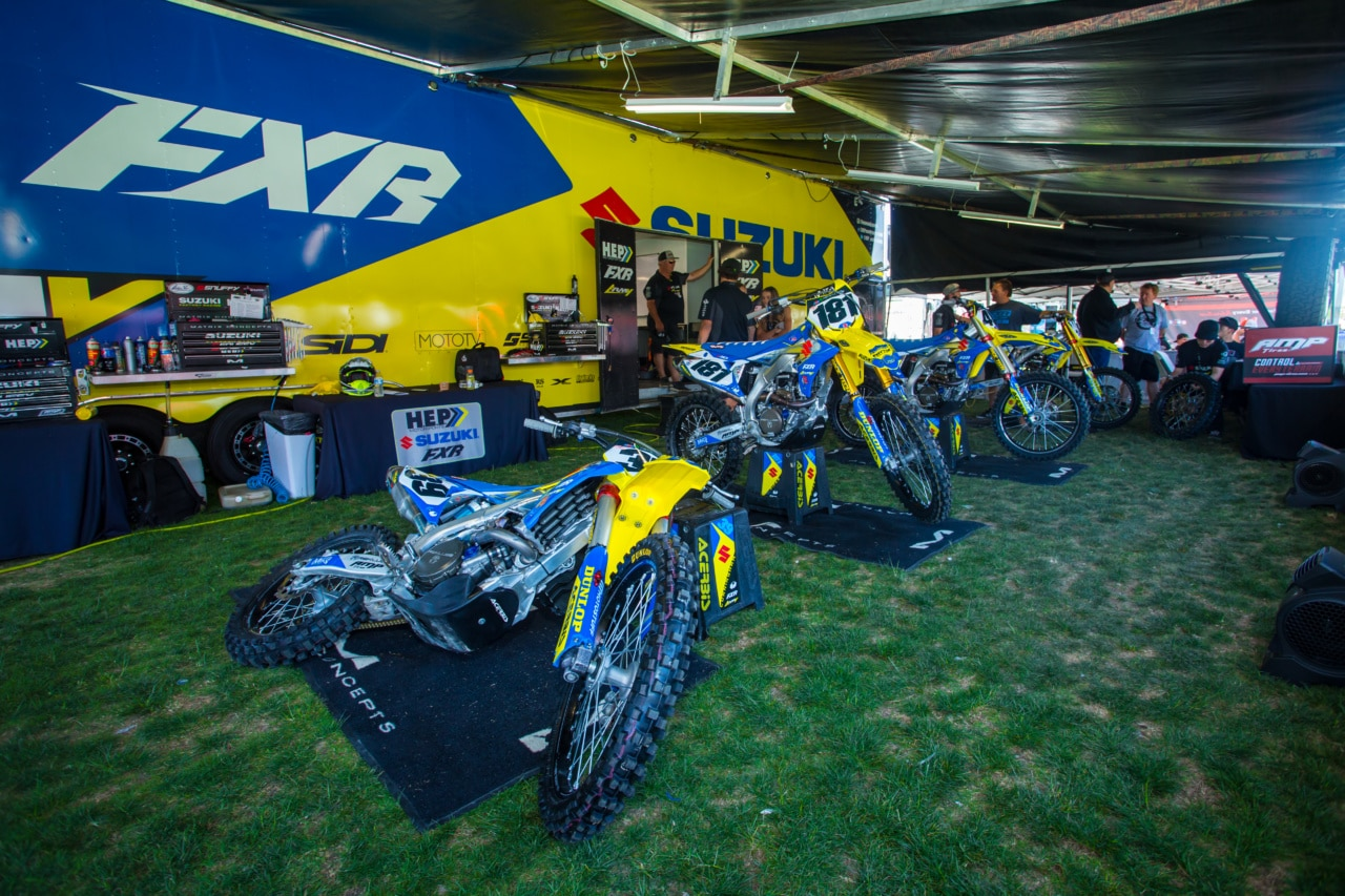 2018 Las Vegas Supercross Best In The Pits