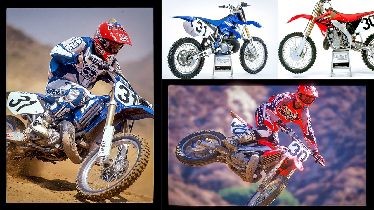 ON RECORD | 2004 HONDA CR250 VERSUS YAMAHA YZ250 | Motocross Action