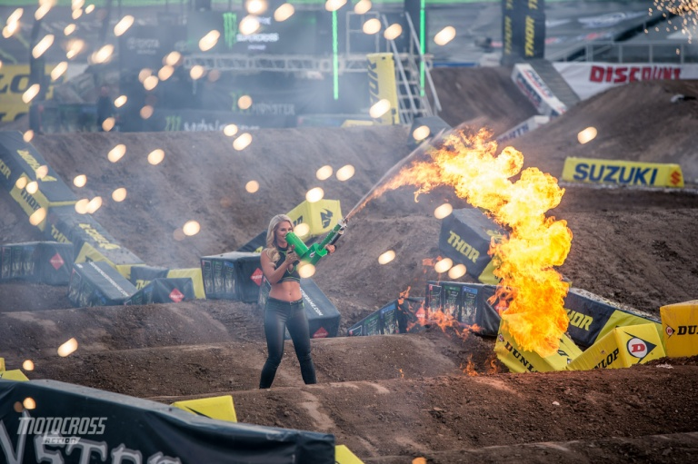 supercross fire