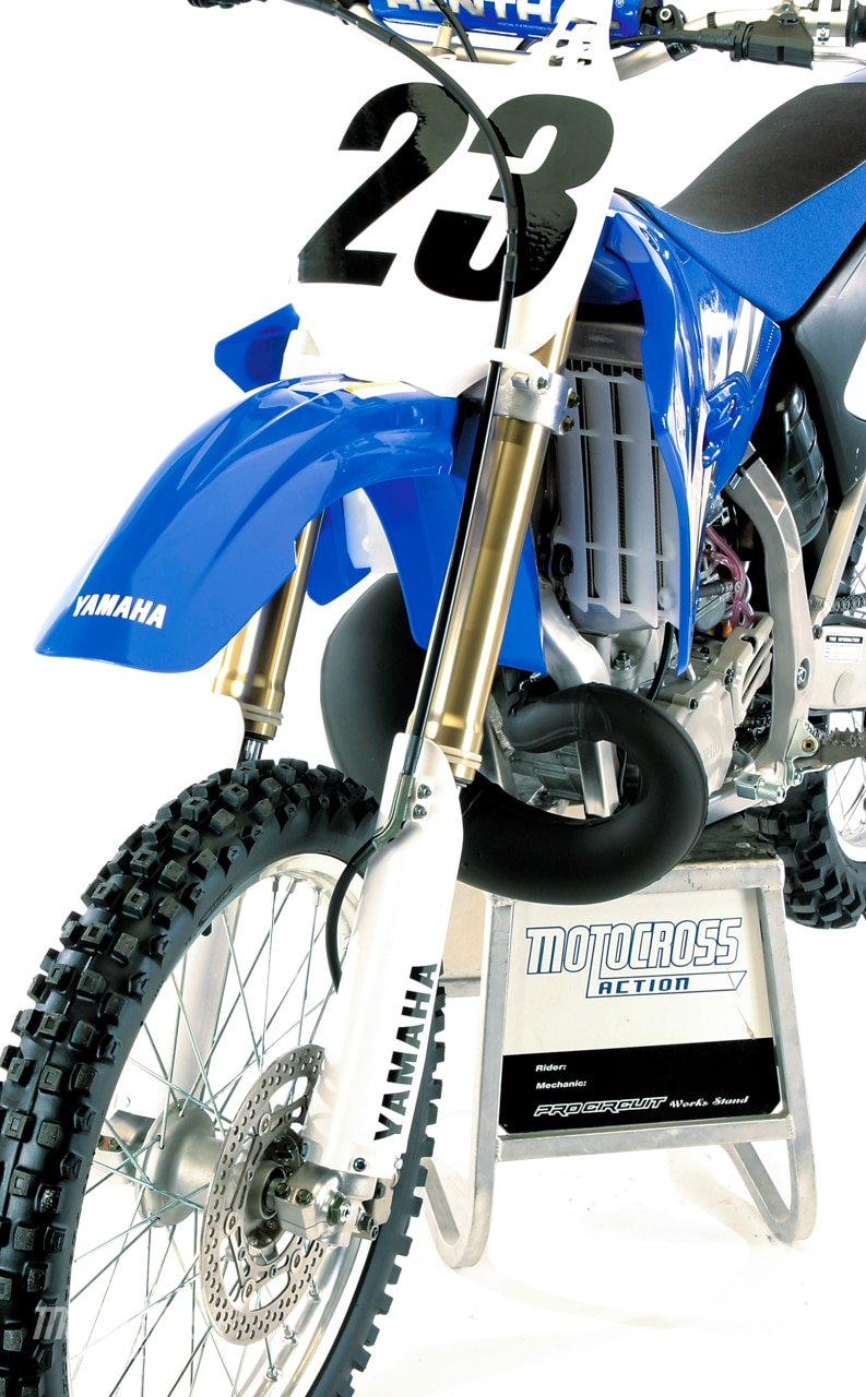 WE TEST THE 2005 YAMAHA YZ250 | Motocross Action Magazine