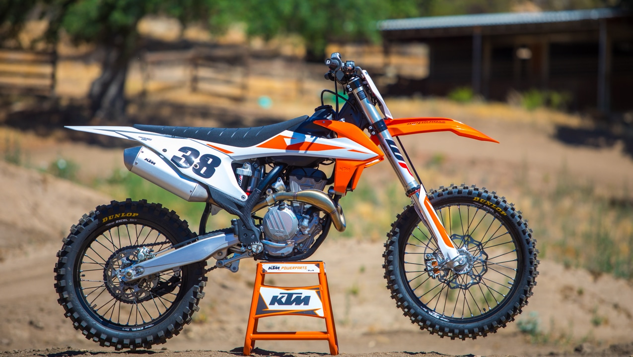 2019 ktm 350sxf mxa first ride video motocross action. Black Bedroom Furniture Sets. Home Design Ideas