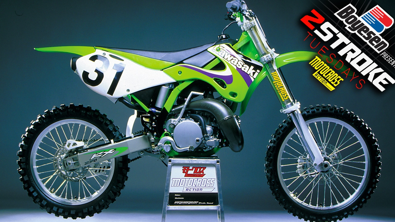 TWO-STROKE TUESDAY | 40 INSIDE SECRETS OF THE 1999 KX250 | Motocross