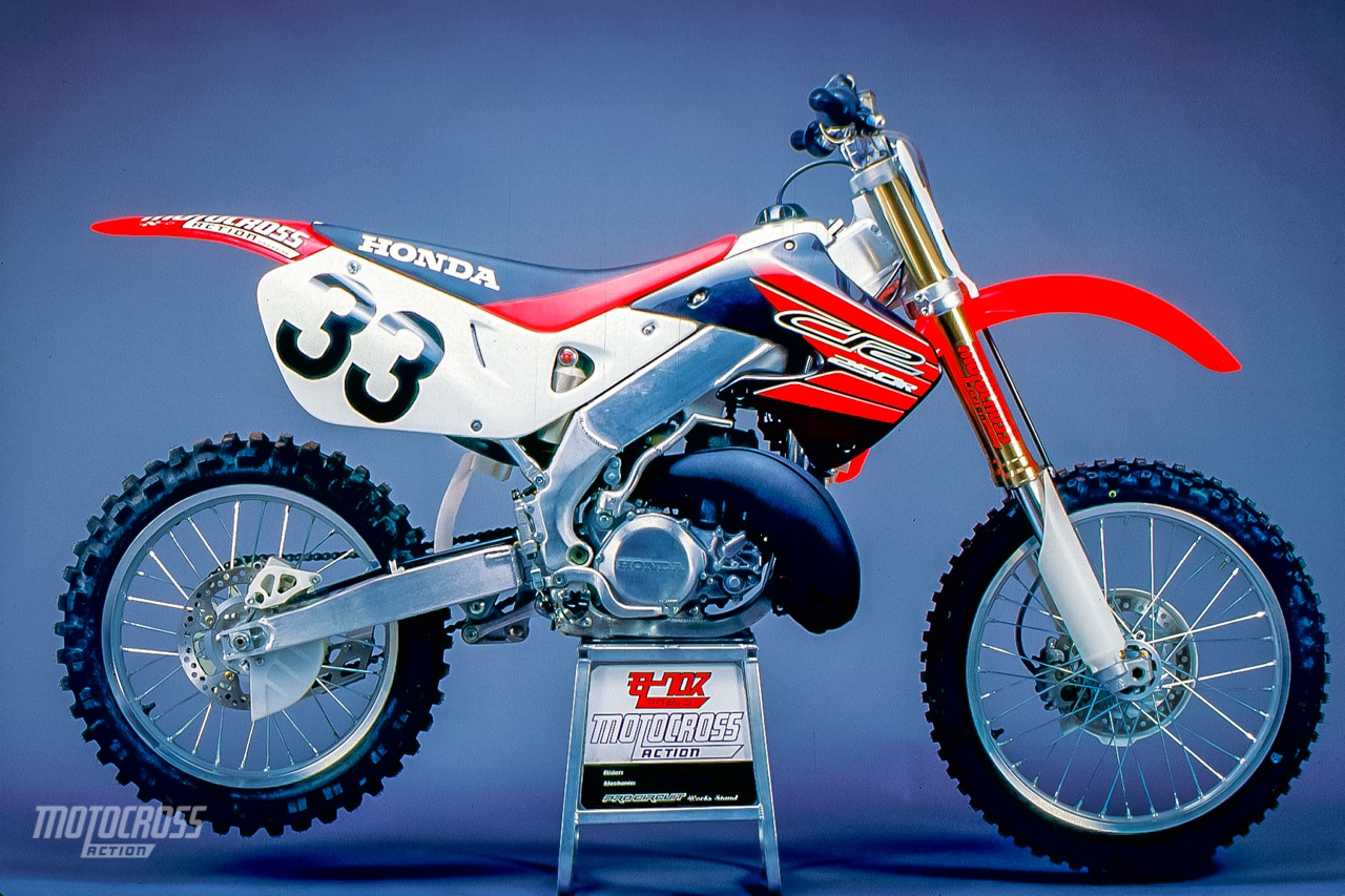 ON RECORD | INSIDE SECRETS OF THE 1999 HONDA CR250