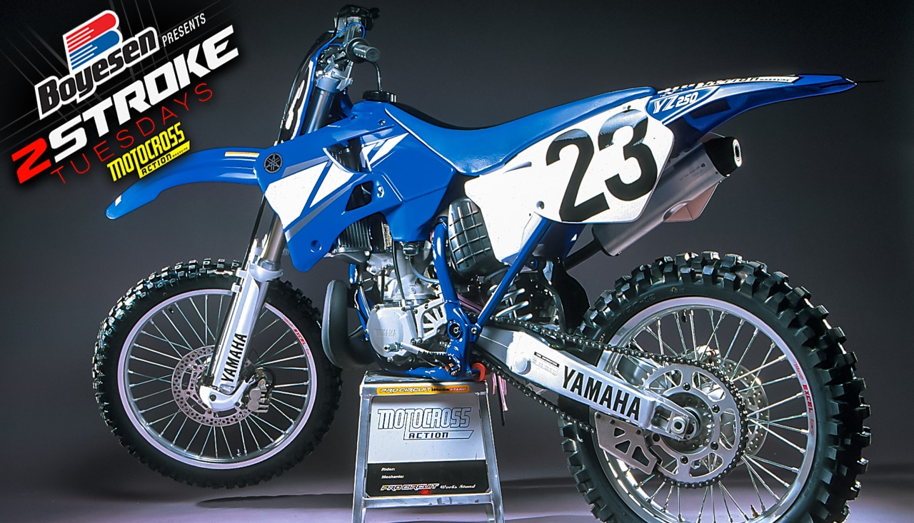 TWO-STROKE TUESDAY | WE TEST THE 2001 YAMAHA YZ250 | Motocross