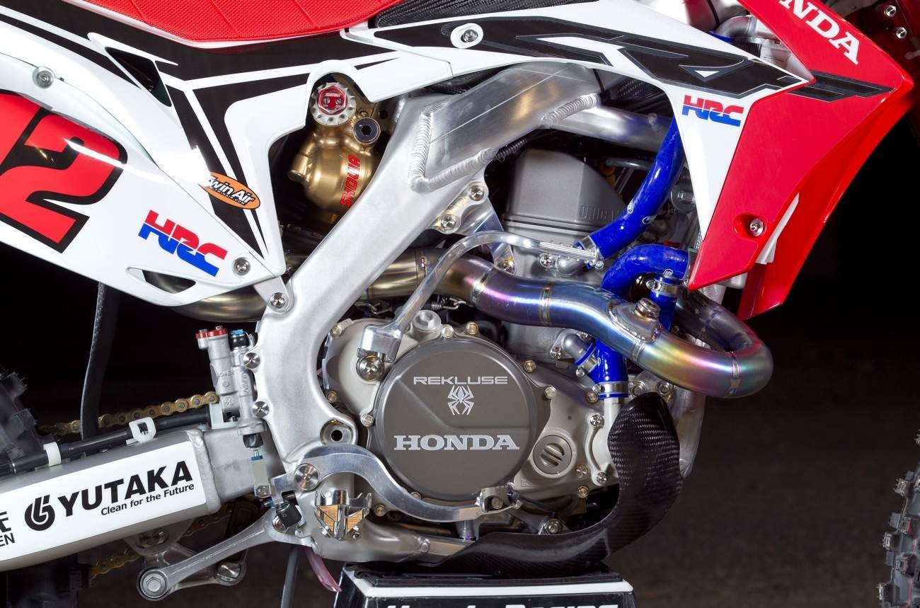 How Much Does A Radiator Cost >> INSIDE THE WORKS HONDA HRC CRF450 GRAND PRIX BIKE ...