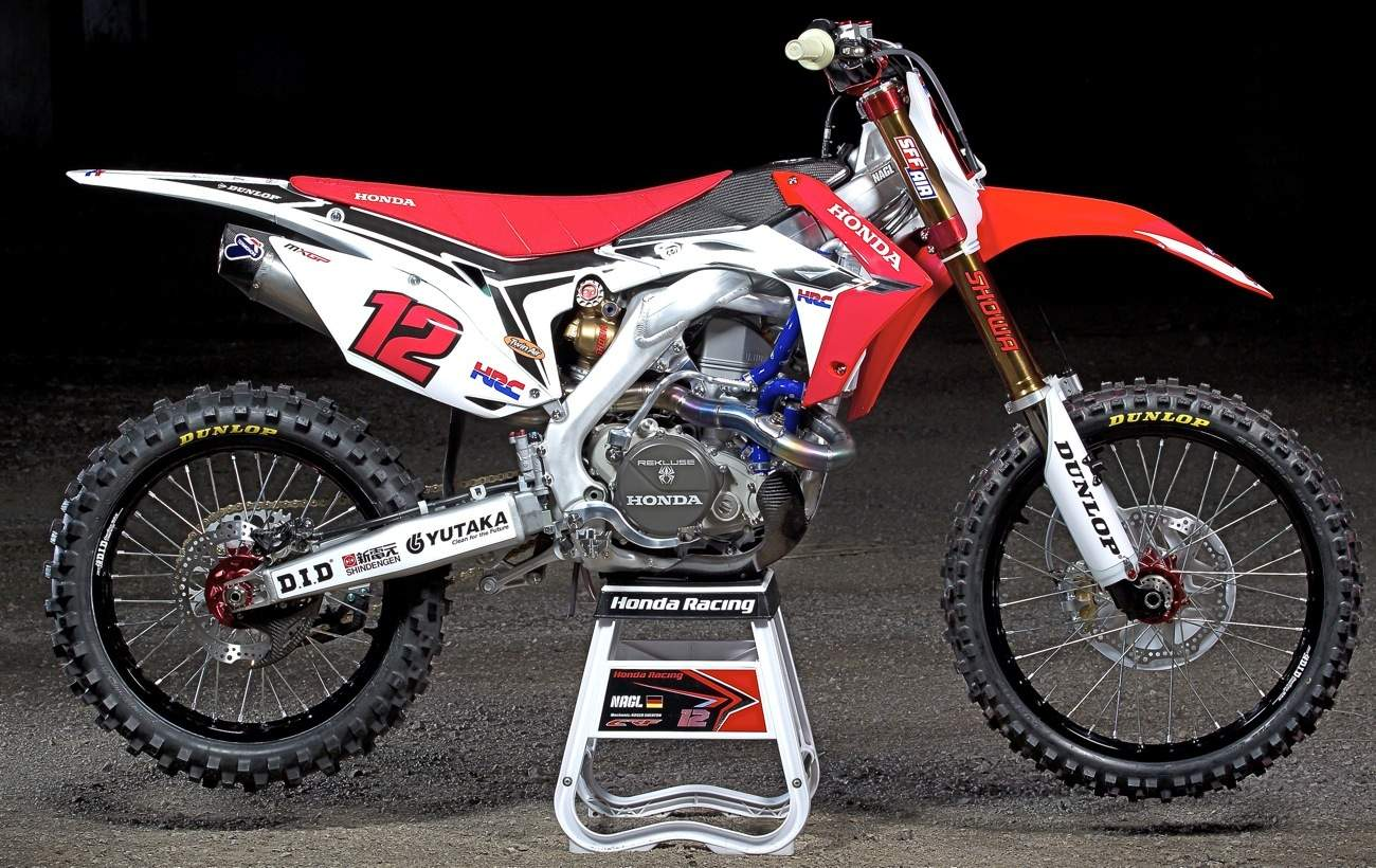 inside the works honda hrc crf450 grand prix bike. Black Bedroom Furniture Sets. Home Design Ideas