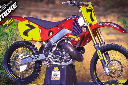 TWO STROKE TUESDAY WHAT THE HONDA CR500 COULD HAVE BEEN