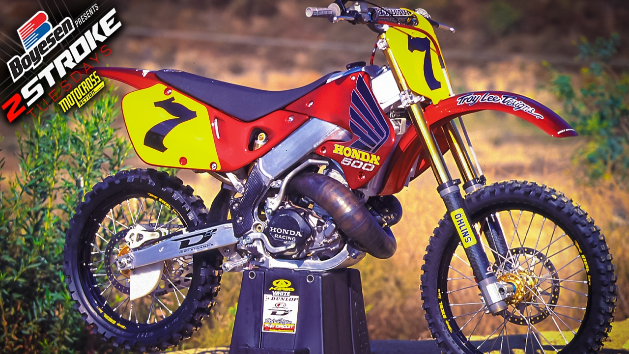 two stroke tuesday what the honda cr500 could have been. Black Bedroom Furniture Sets. Home Design Ideas