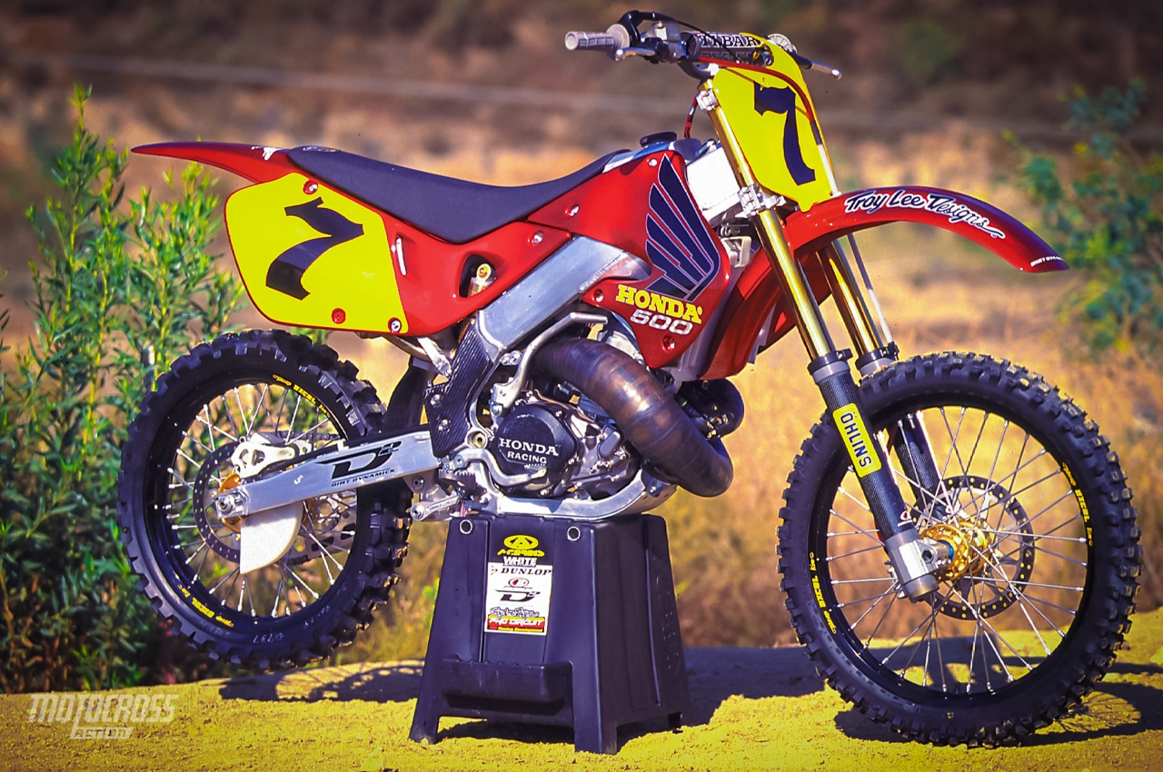 what the honda cr500 could have been motocross action. Black Bedroom Furniture Sets. Home Design Ideas
