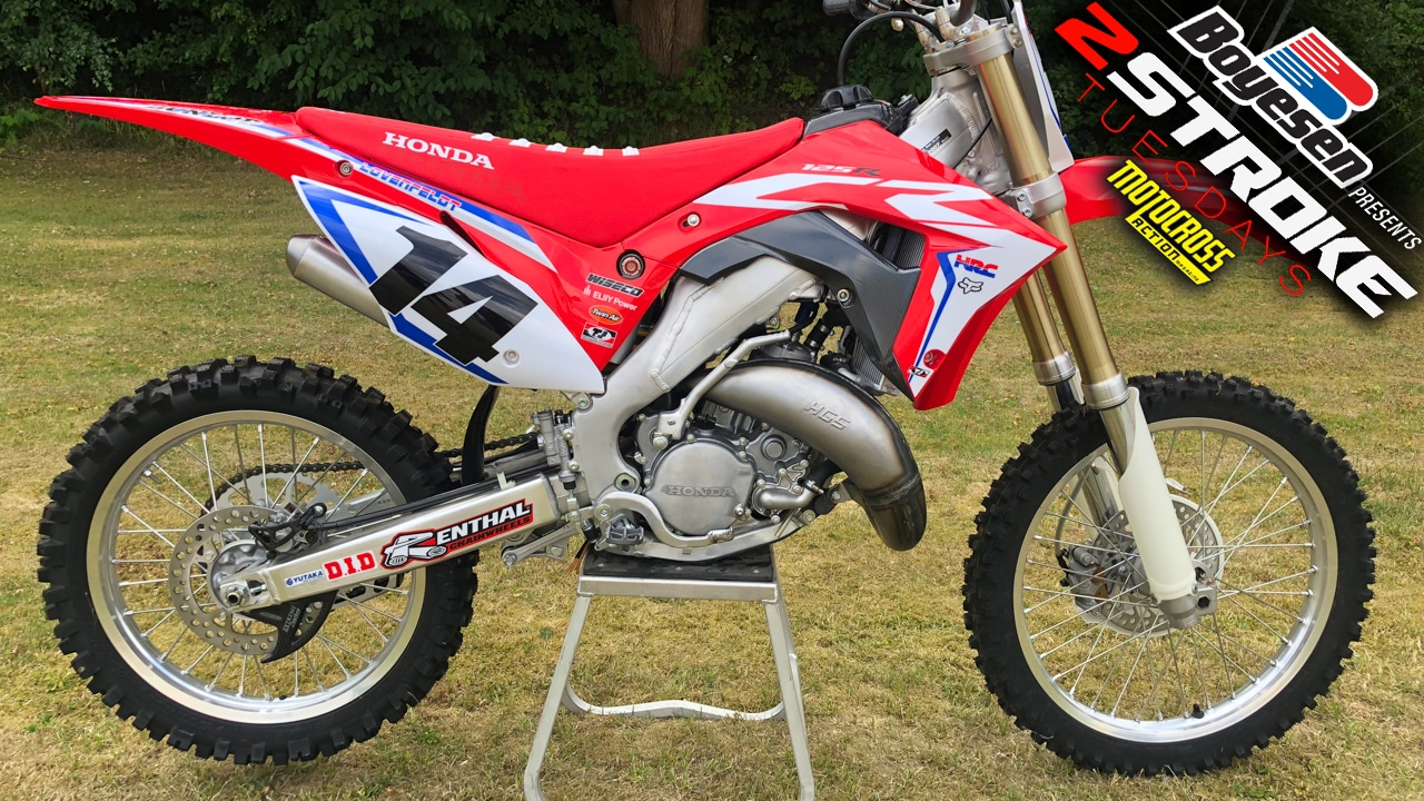 2019 Cr125 Works Edition Built Be Denmarks Løvenfeldt