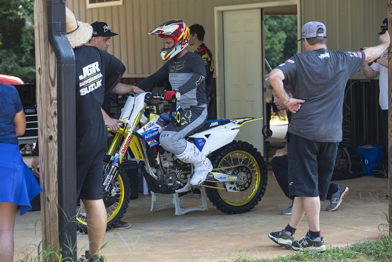 All became Chad reed amateur career consider, that