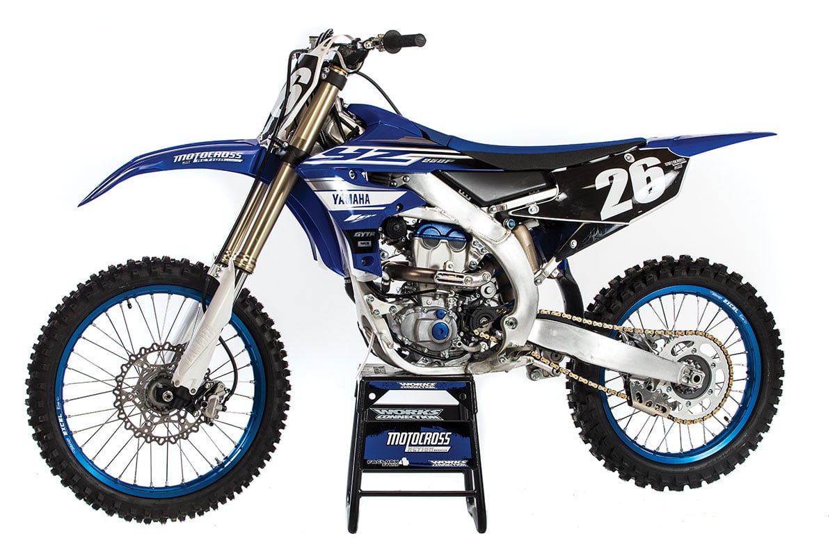 mxa race test the real test of the 2019 yamaha yz250f. Black Bedroom Furniture Sets. Home Design Ideas