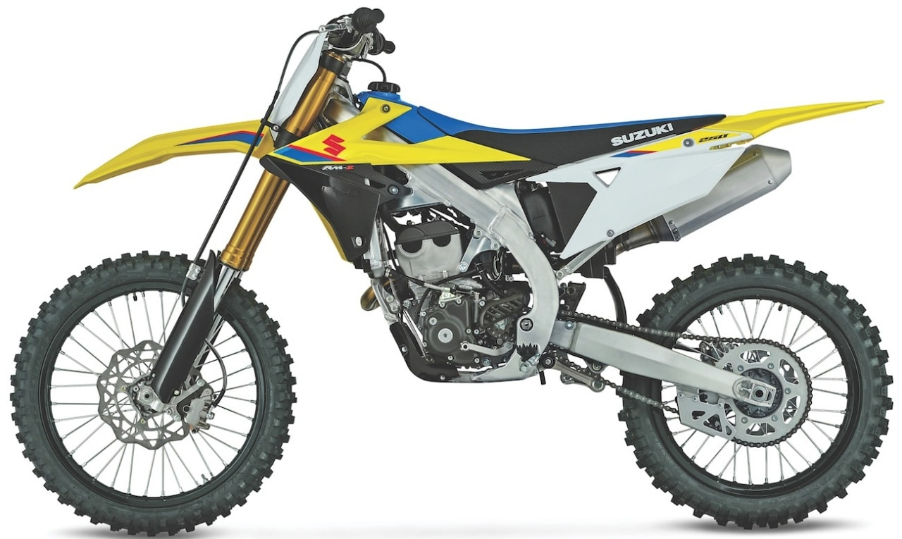 fa61a11ae8f05 2019 Suzuki RM-Z250 gets Kayaba suspension and a new dual-fuel engine.