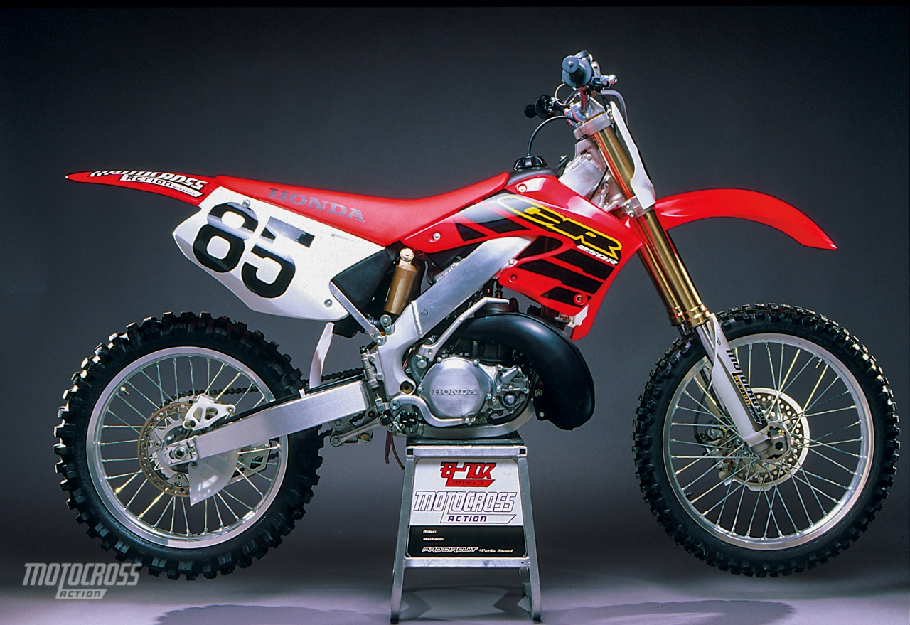 2000 honda cr250 setup guide motocross action magazine. Black Bedroom Furniture Sets. Home Design Ideas