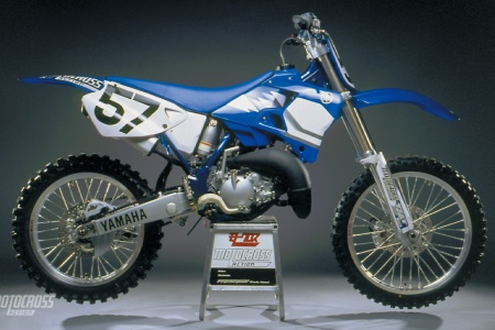 ON RECORD 2000 YAMAHA YZ250 COMPLETE TEST Motocross