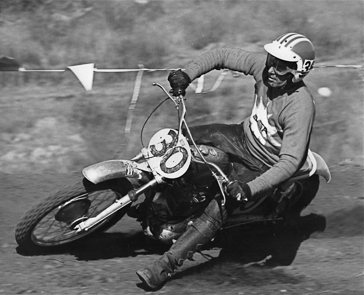 0c2441715 This is a photo of Feets Minert at the 1970 Saddleback Trans-AMA. Feets  also went to England to race motocross back in the 1960s.