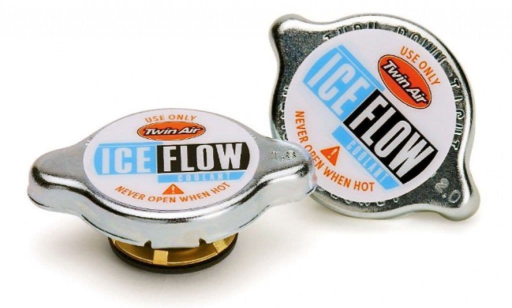 MXA TEAM TESTED: TWIN AIR ICE FLOW RADIATOR CAP | Motocross Action