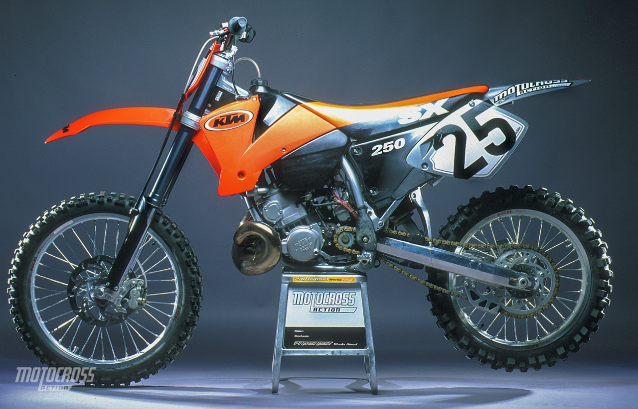 Terrific 2001 Ktm 250Sx Complete Test Motocross Action Magazine Caraccident5 Cool Chair Designs And Ideas Caraccident5Info