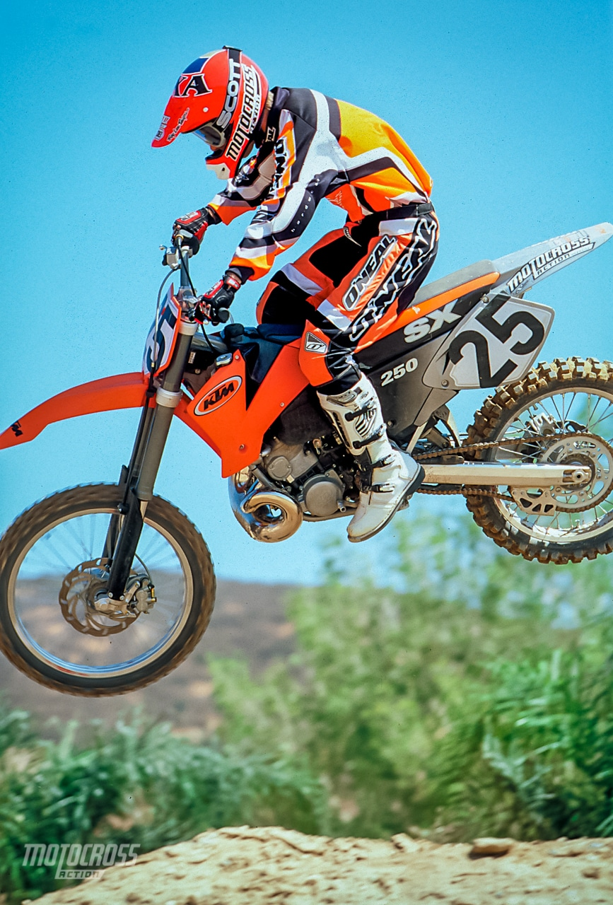 Magnificent 2001 Ktm 250Sx Complete Test Motocross Action Magazine Caraccident5 Cool Chair Designs And Ideas Caraccident5Info