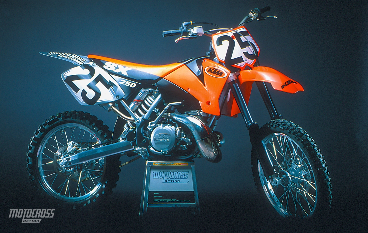 Phenomenal 2001 Ktm 250Sx Complete Test Motocross Action Magazine Caraccident5 Cool Chair Designs And Ideas Caraccident5Info