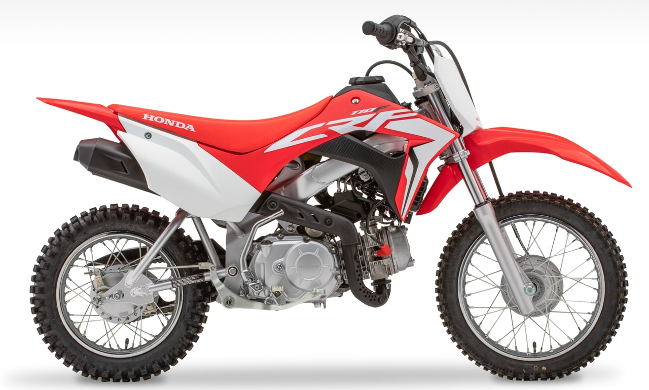 first look 2019 honda crf110f  motocross action magazine