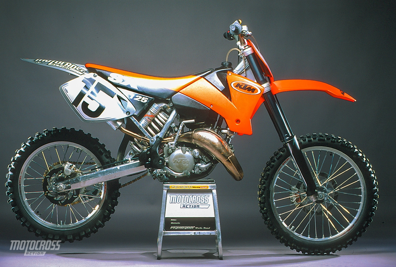 2001 KTM 125SX | COMPETE TEST | Motocross Action Magazine