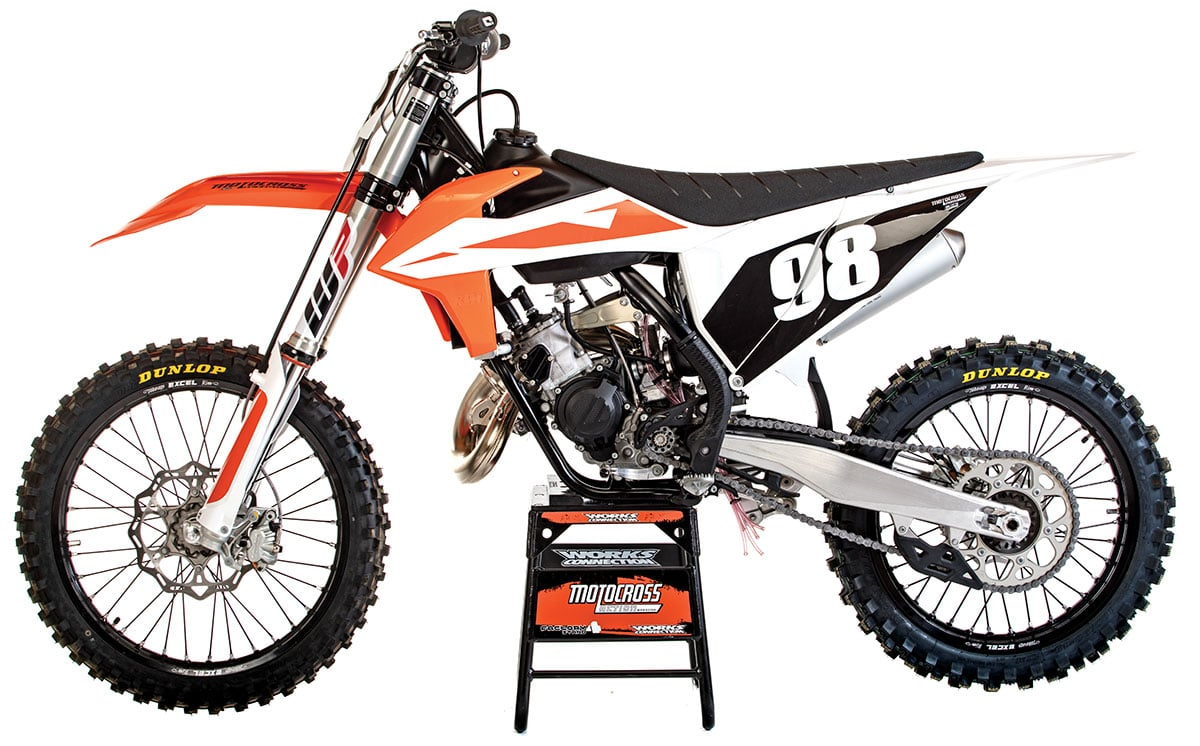 MXA RACE TEST: THE REAL TEST OF THE 2019 KTM 125SX TWO