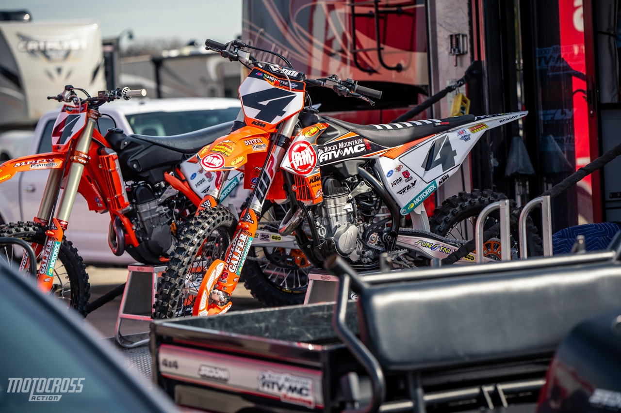 Blake Baggett KTM 450SXF 2019 Arlington Supercross-34