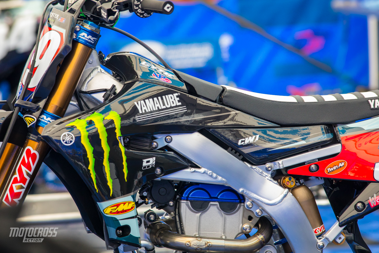 Red Bull Motocross Bike