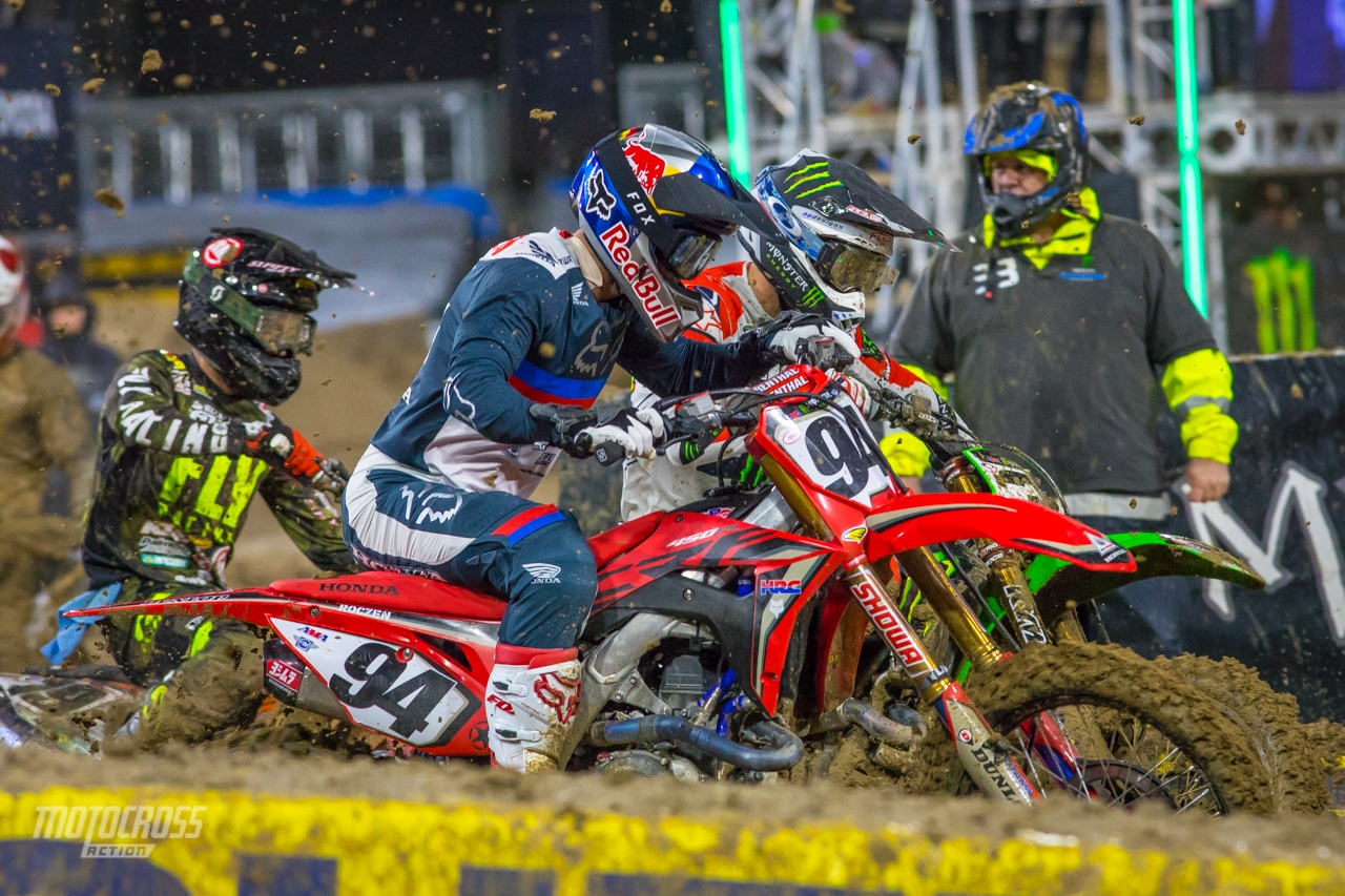 2020 Salt Lake City Supercross Round 13 Pre Race Report Will The Mud Shake Things Up Motocross Action Magazine