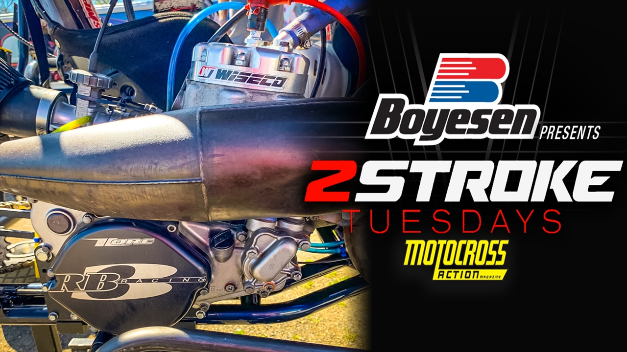 TWO STROKE TUESDAY | 100-HORSEPOWER HONDA CR500 POWERED