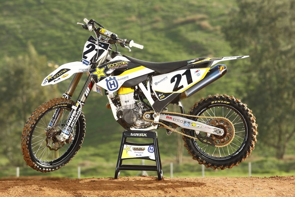 WE RIDE JASON ANDERSON'S ROCKSTAR ENERGY HUSQVARNA FC450