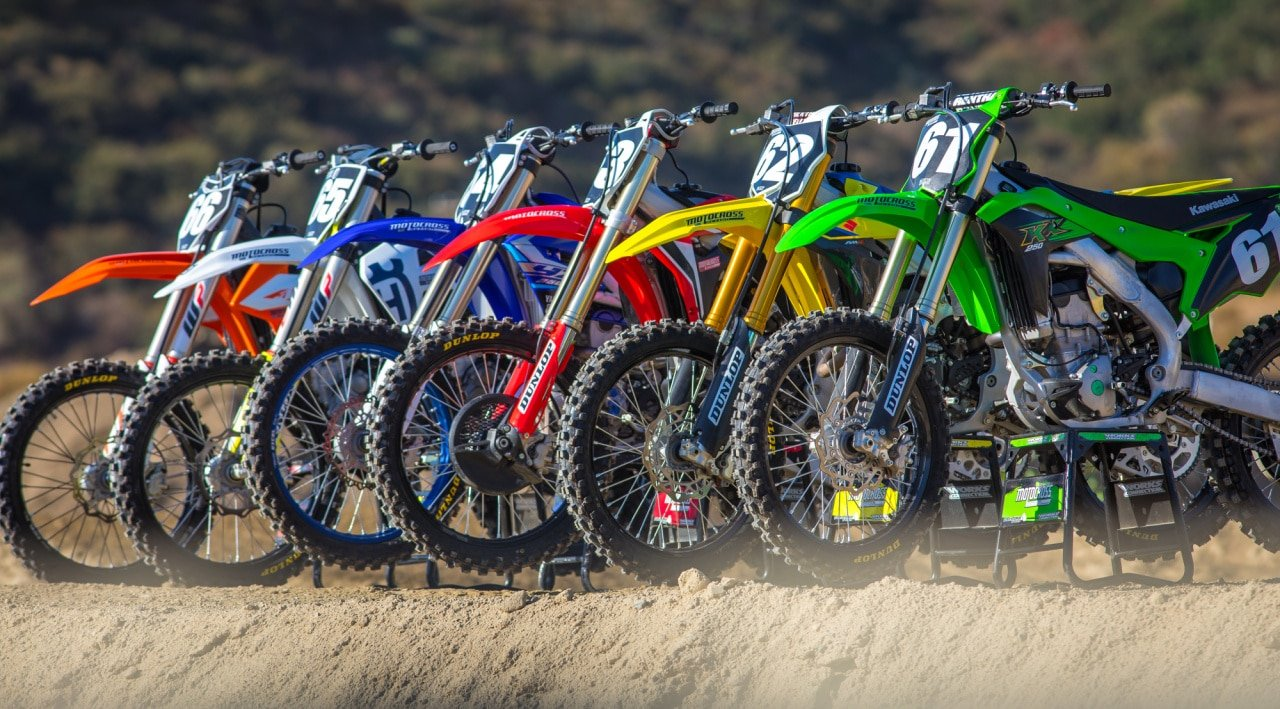 mxa 2020 250 fourstroke motocross shootout video