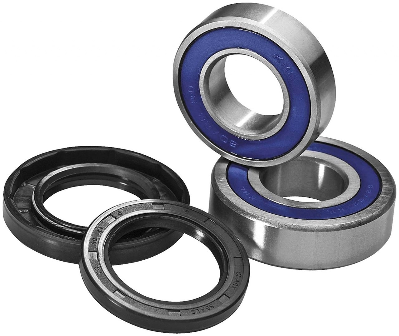 Rear Wheel Bearings /& Seals for Talon Hubs Suzuki RMZ250 04-10