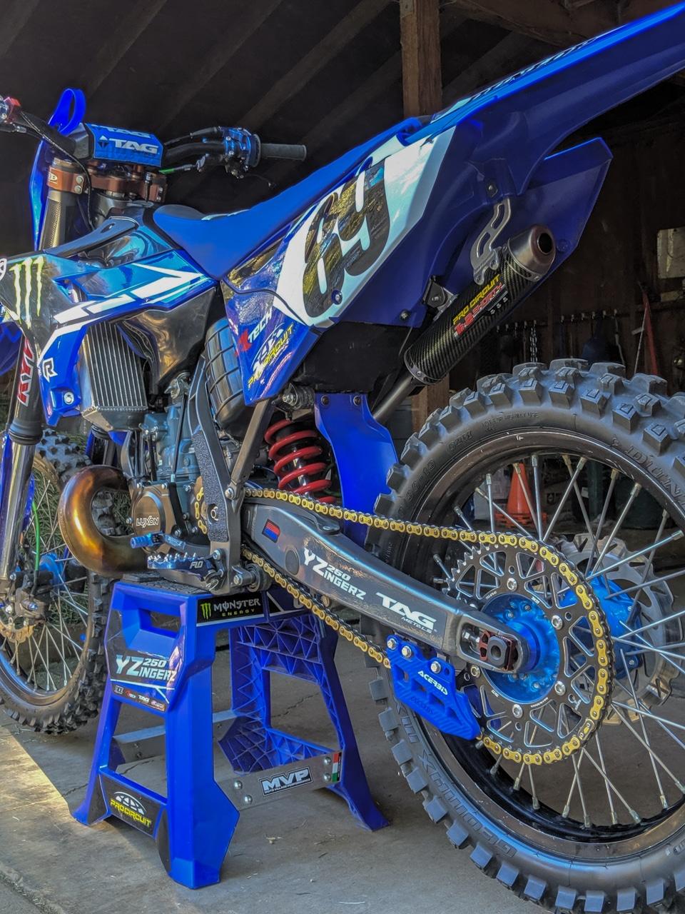 BOLT FASTENER KIT YAMAHA YZF 250 2019 450 2018-2019 MOTOCROSS BOLT HARDWARE