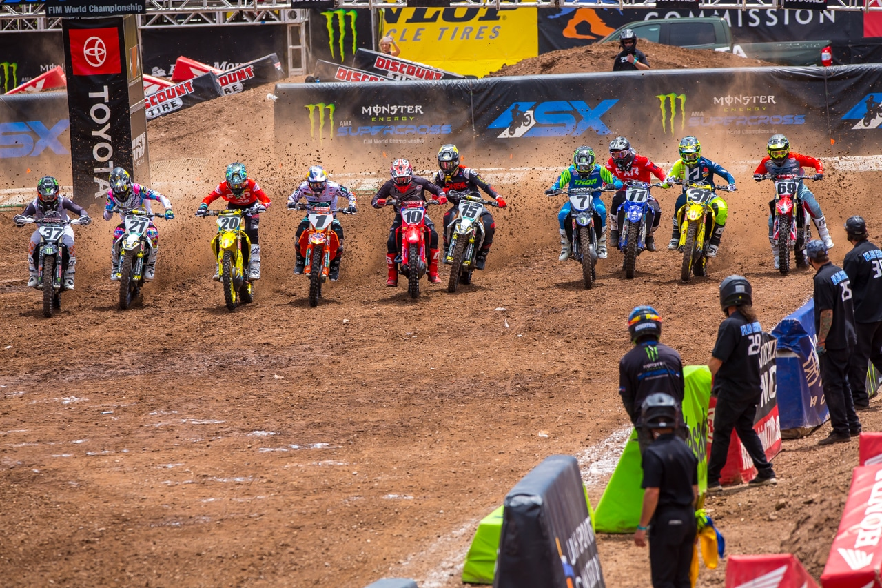 Salt Lake City Supercross Round 17 The Aftermath Champions Crowned Motocross Action Magazine