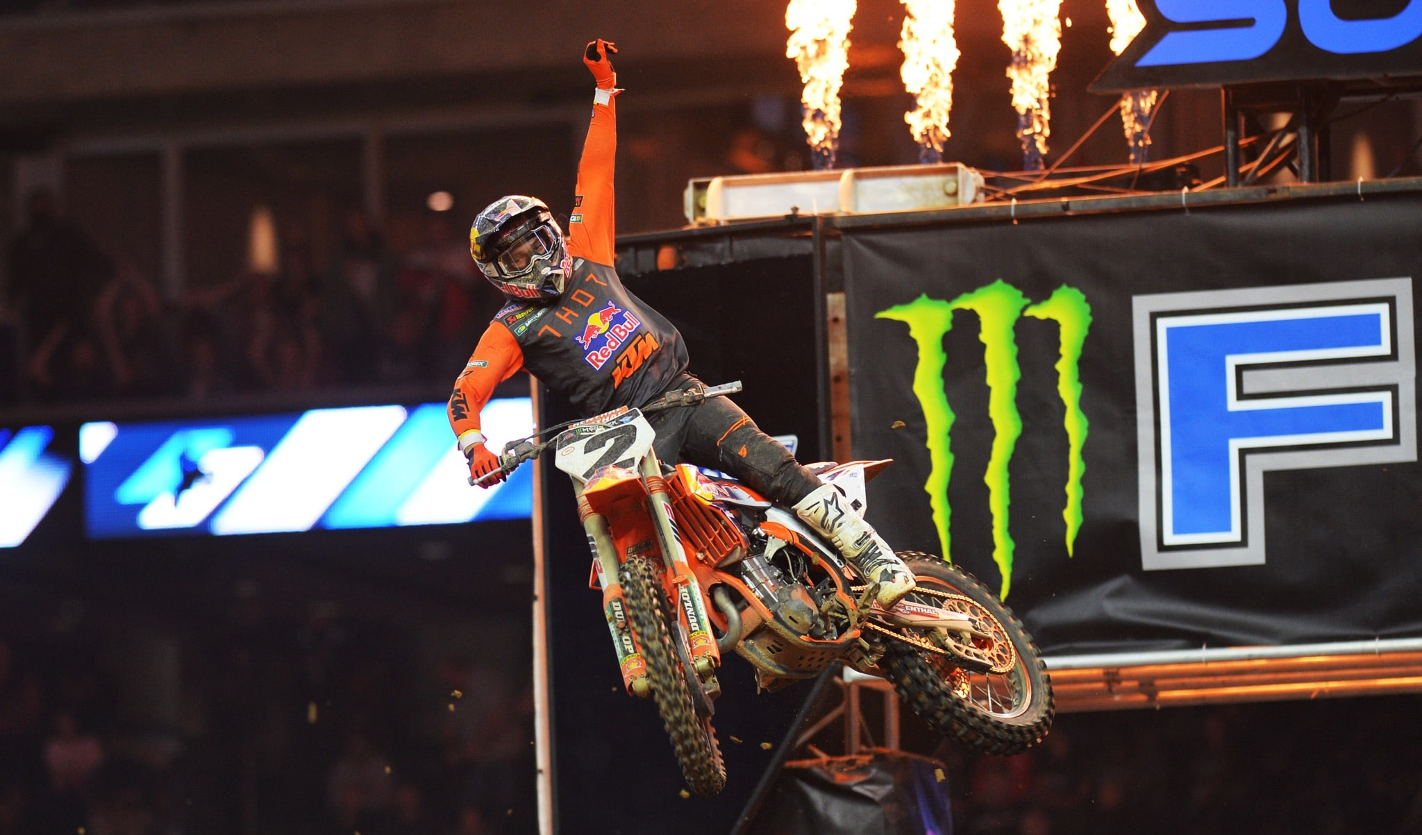 2021 SUPERCROSS SEASON POINT STANDINGS AFTER ROUND 3