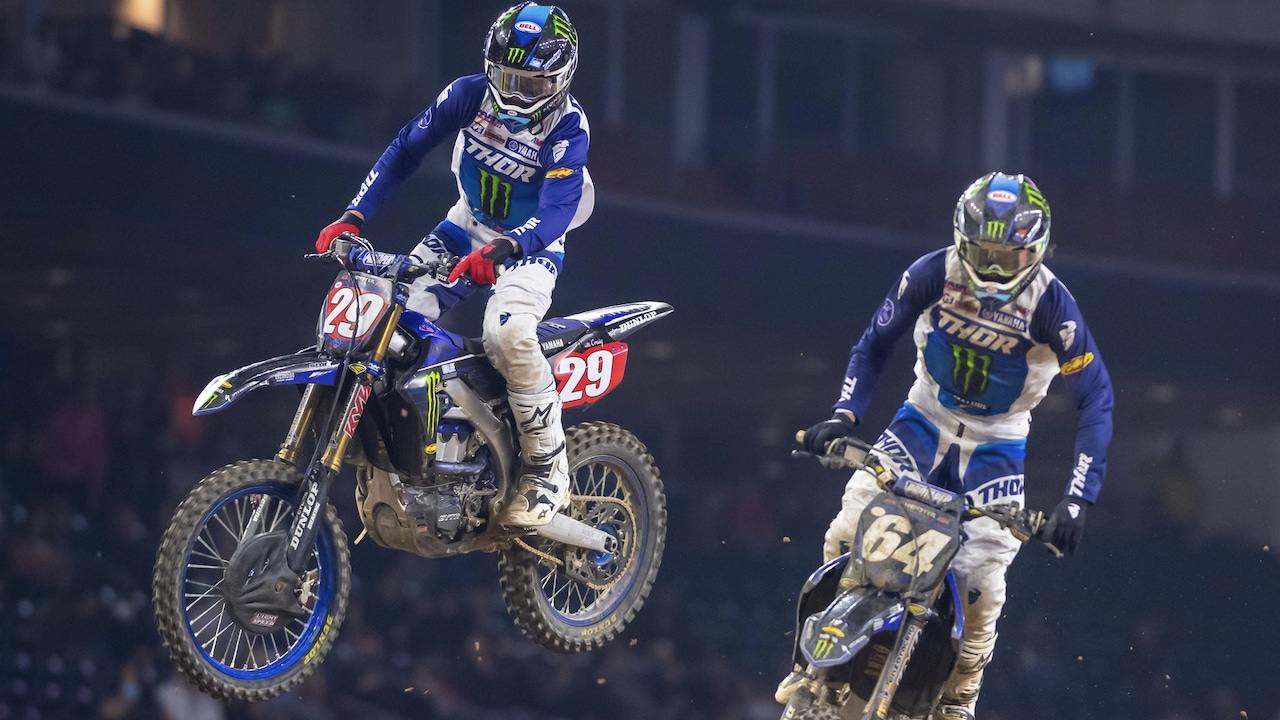 DID YOU MISS IT? SEE THE 2021 HOUSTON 3 250 SUPERCROSS MAIN NOW | Motocross Action Magazine