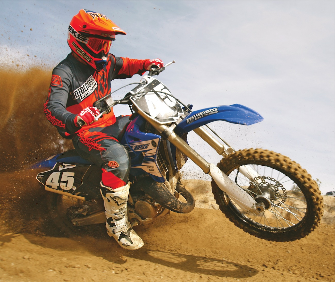 Two Stroke Shootout Ktm 125sx Vs Yamaha Yz125 Motocross Action 2002 Yz 125 Wiring Diagram Yz125action3