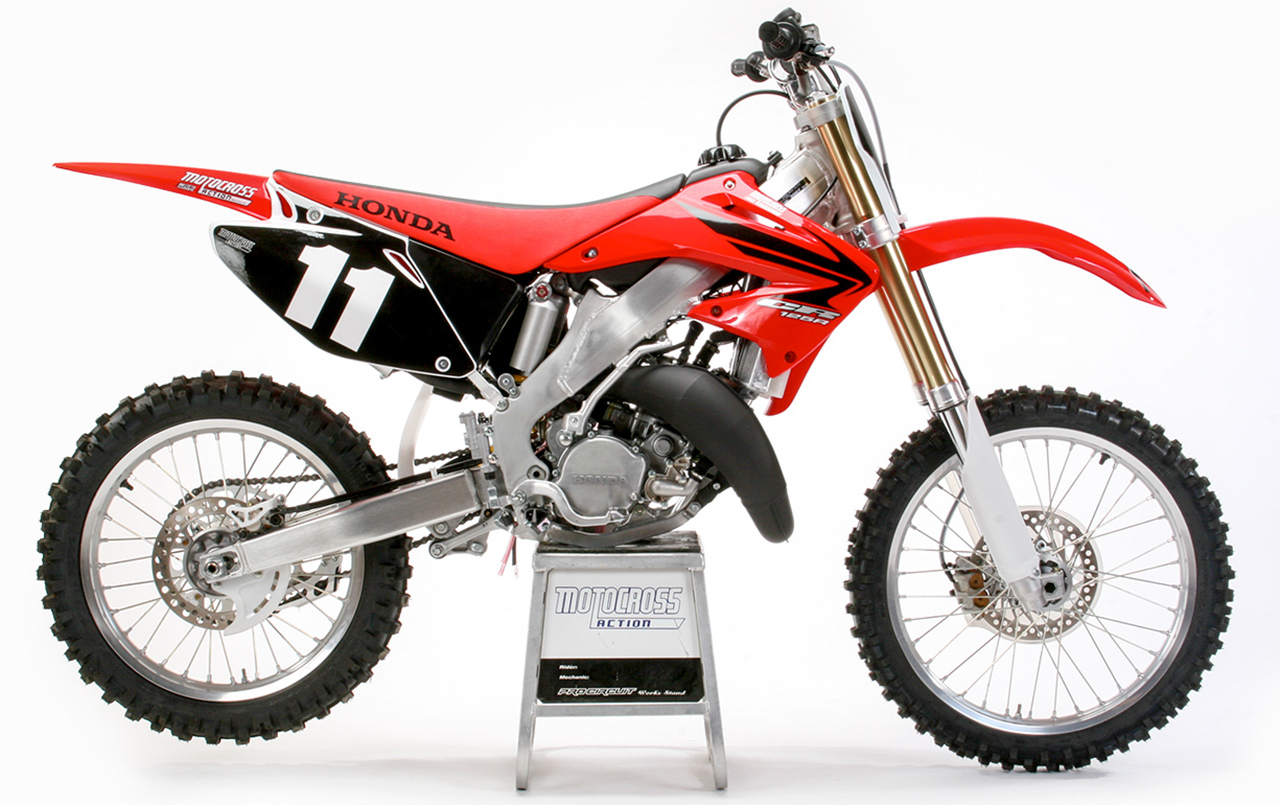 two stroke tuesday 2007 honda cr125 motocross action. Black Bedroom Furniture Sets. Home Design Ideas