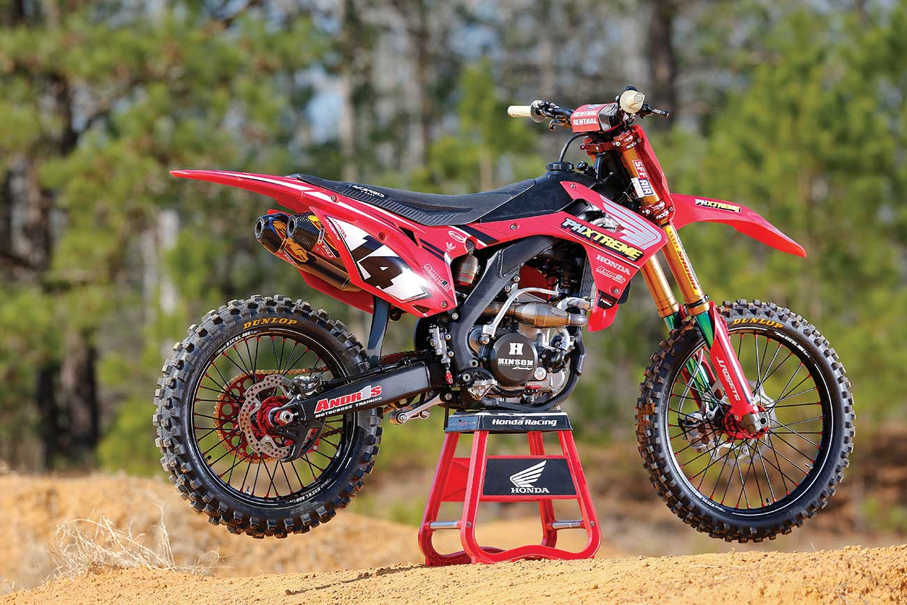 mxa tests a 53 000 honda crf250 project bike motocross. Black Bedroom Furniture Sets. Home Design Ideas