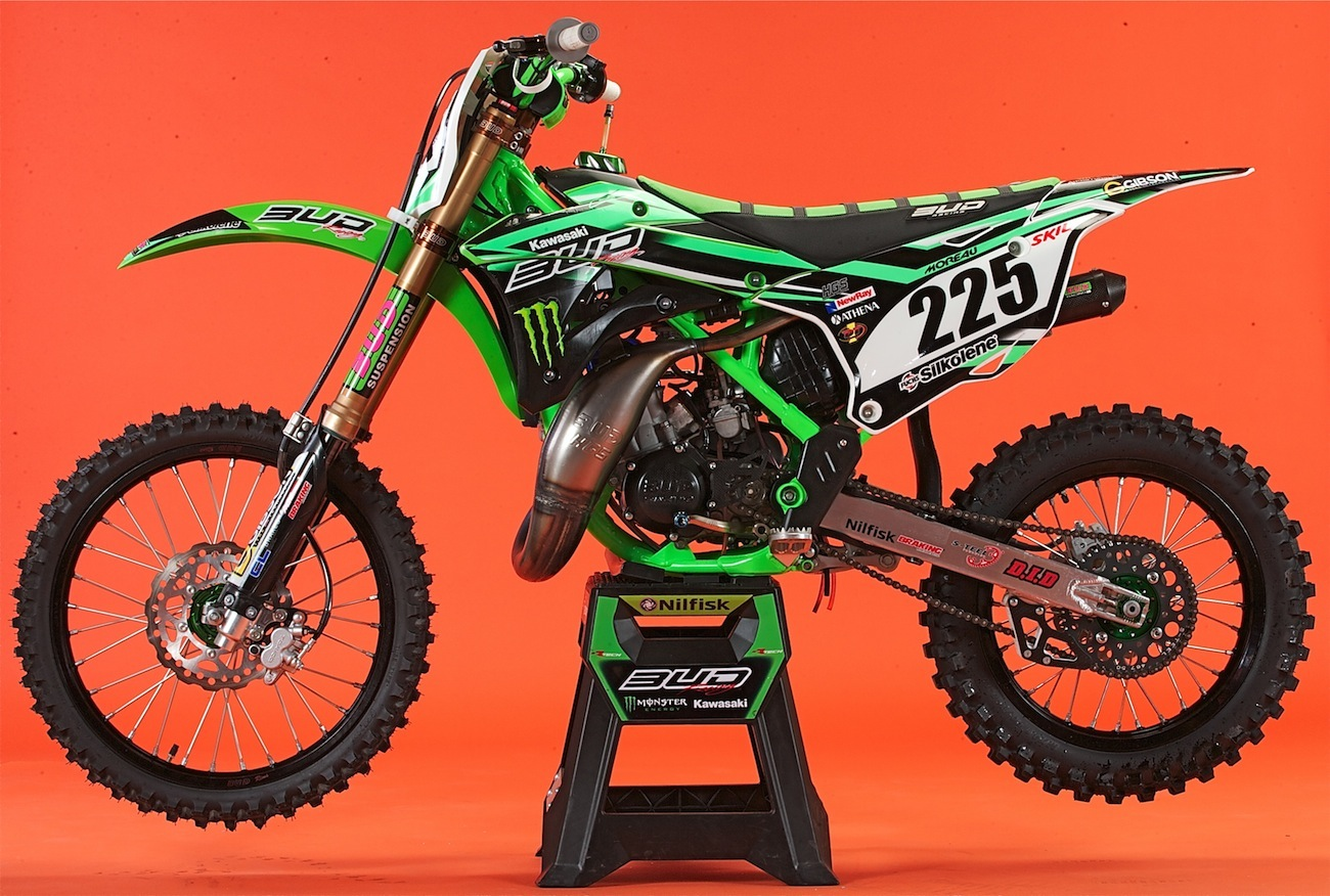 WE RIDE BUD RACING'S KAWASAKI KX112 SUPERMINI | Motocross