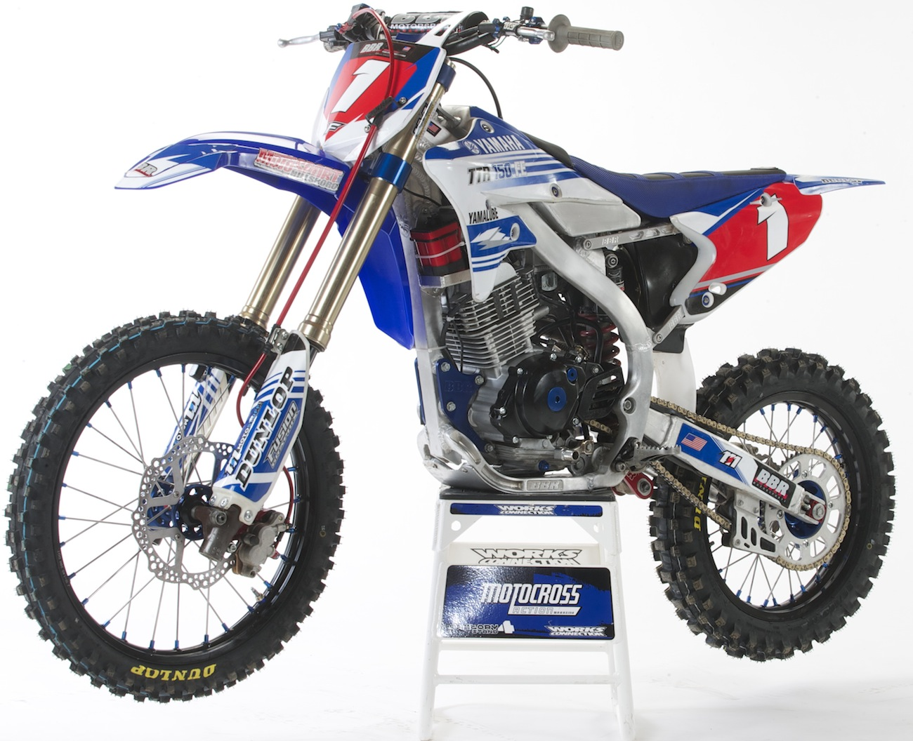 the rumored yamaha yz150f finally gets built motocross