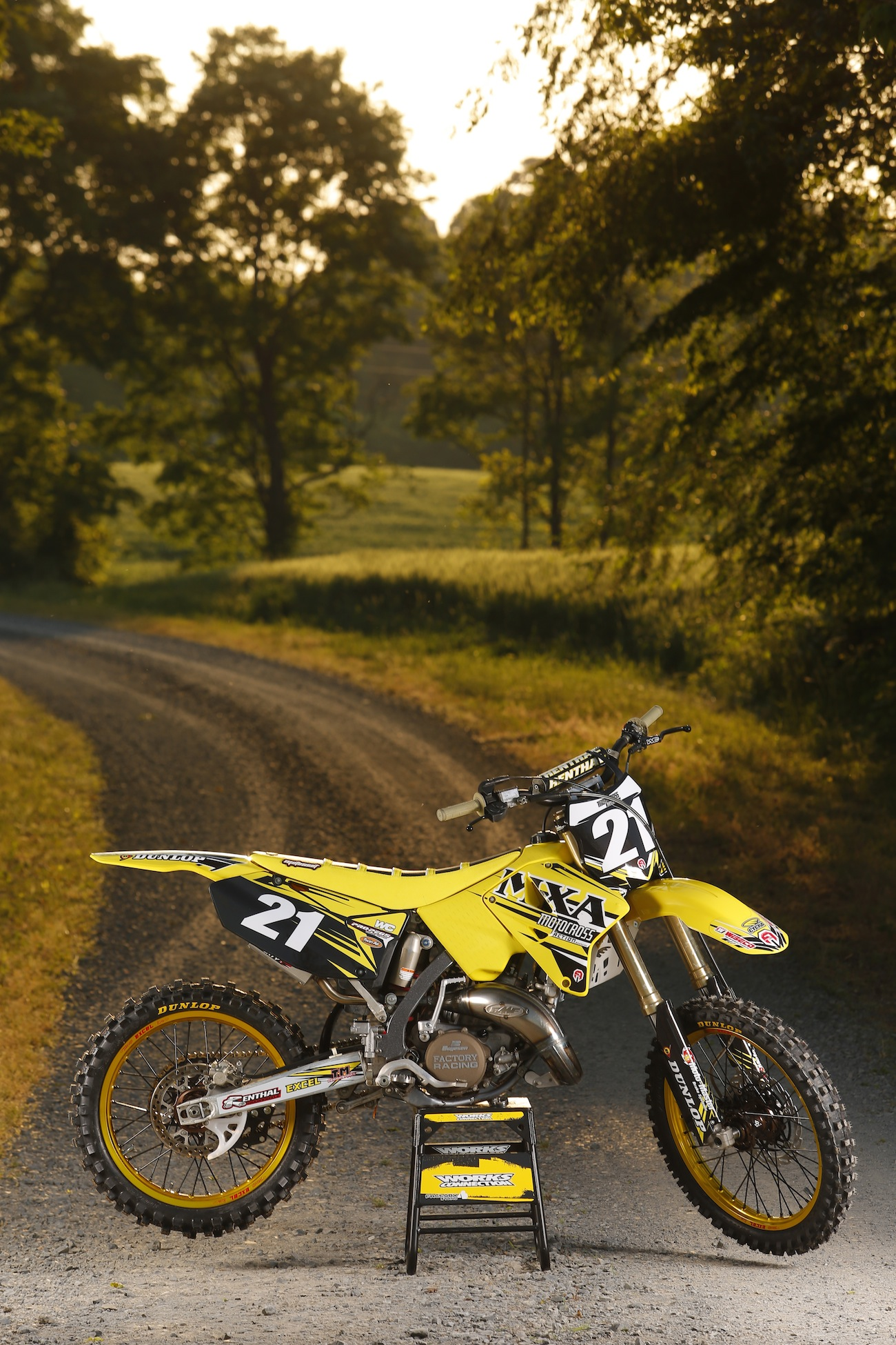MXA SMOKE FILES: 10 STEPS TO A RACE-READY 2007 SUZUKI RM125