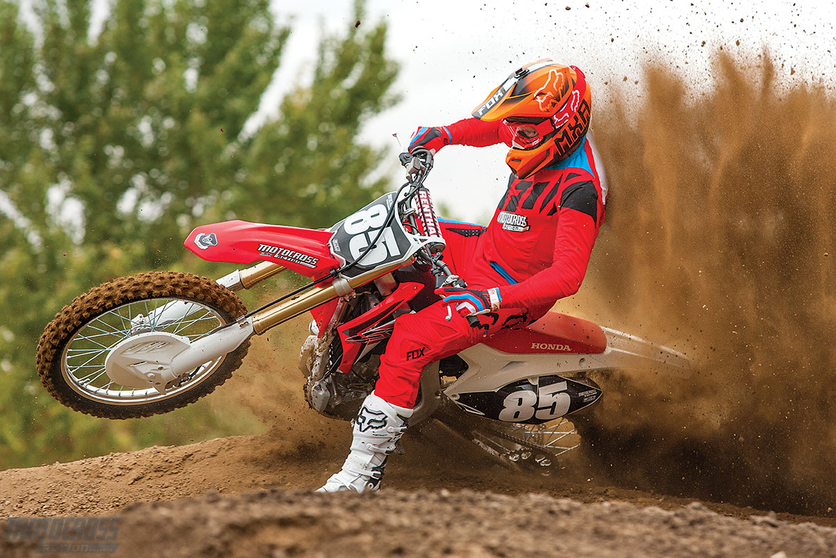 Mxa Race Test 2017 Honda Crf250 Devoid Of Difference