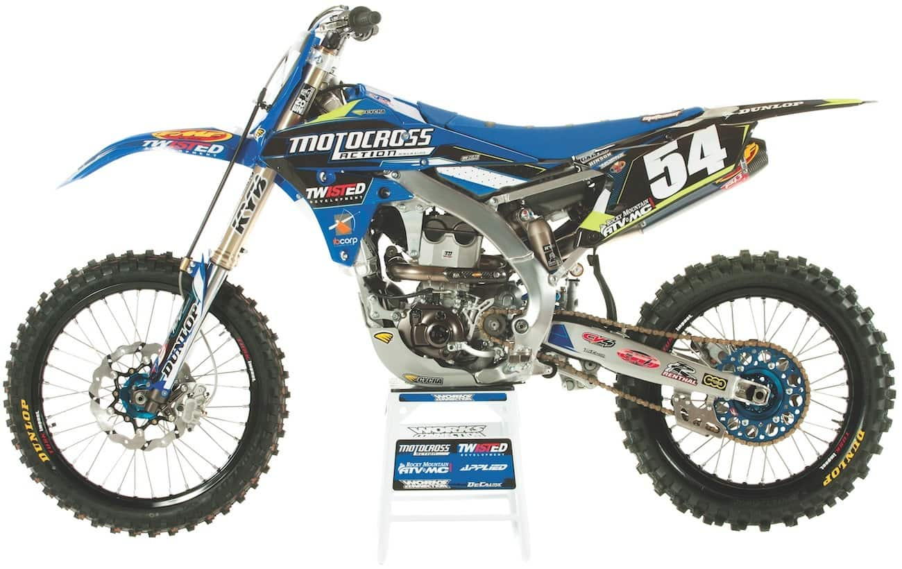 TWO VS  FOUR SHOOTOUT: YZ250 TWO-STROKE VS  YZ250F FOUR-STROKE